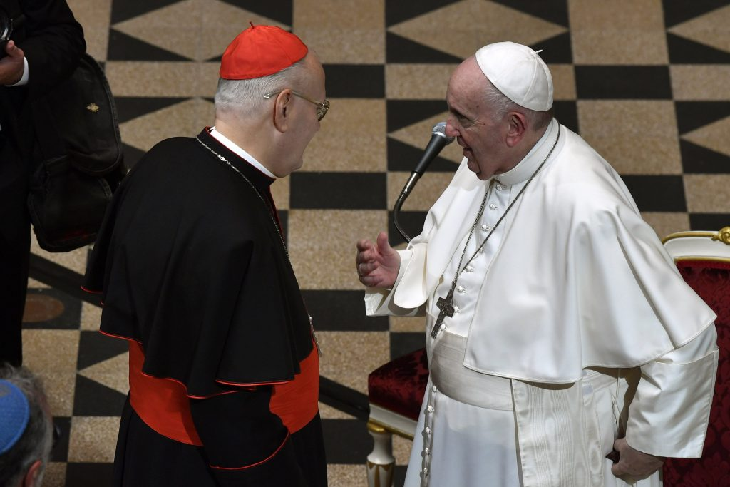 Pope Francis Gives Private Audience to Cardinal Erdő post's picture
