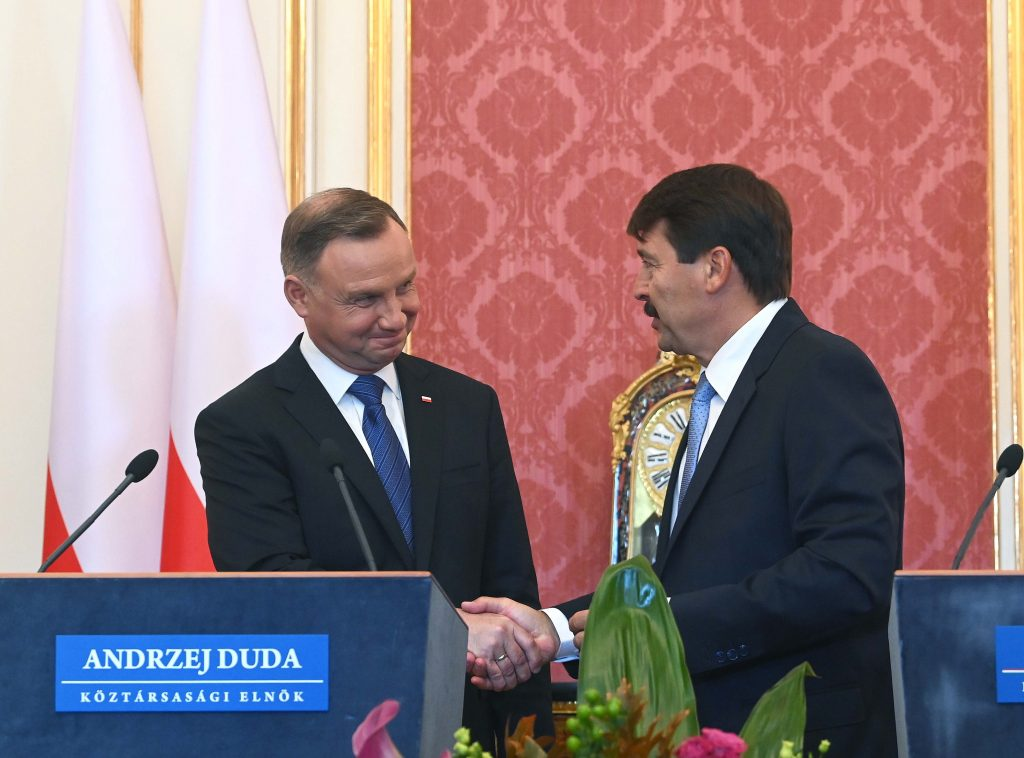 President Áder: Hungarian Stretch of via Carpatia Motorway to Be Completed by Year-End post's picture