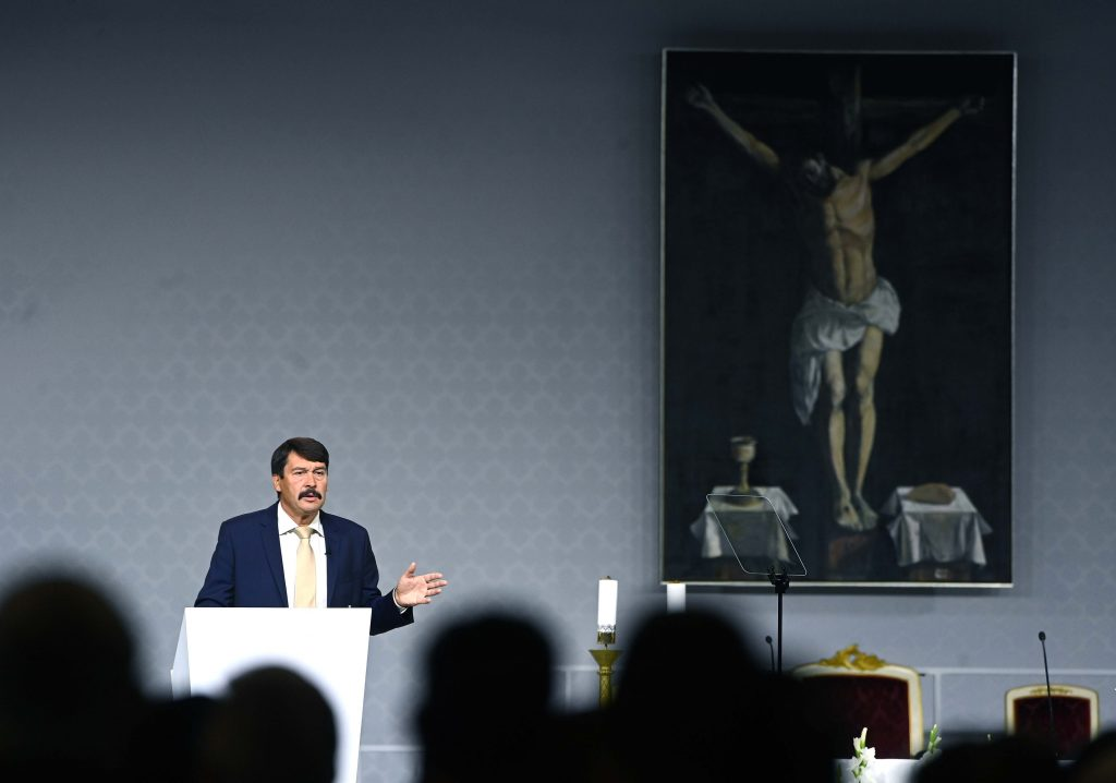 Testimony of President Áder:Seeking and Receiving God is a Process of Active Work post's picture