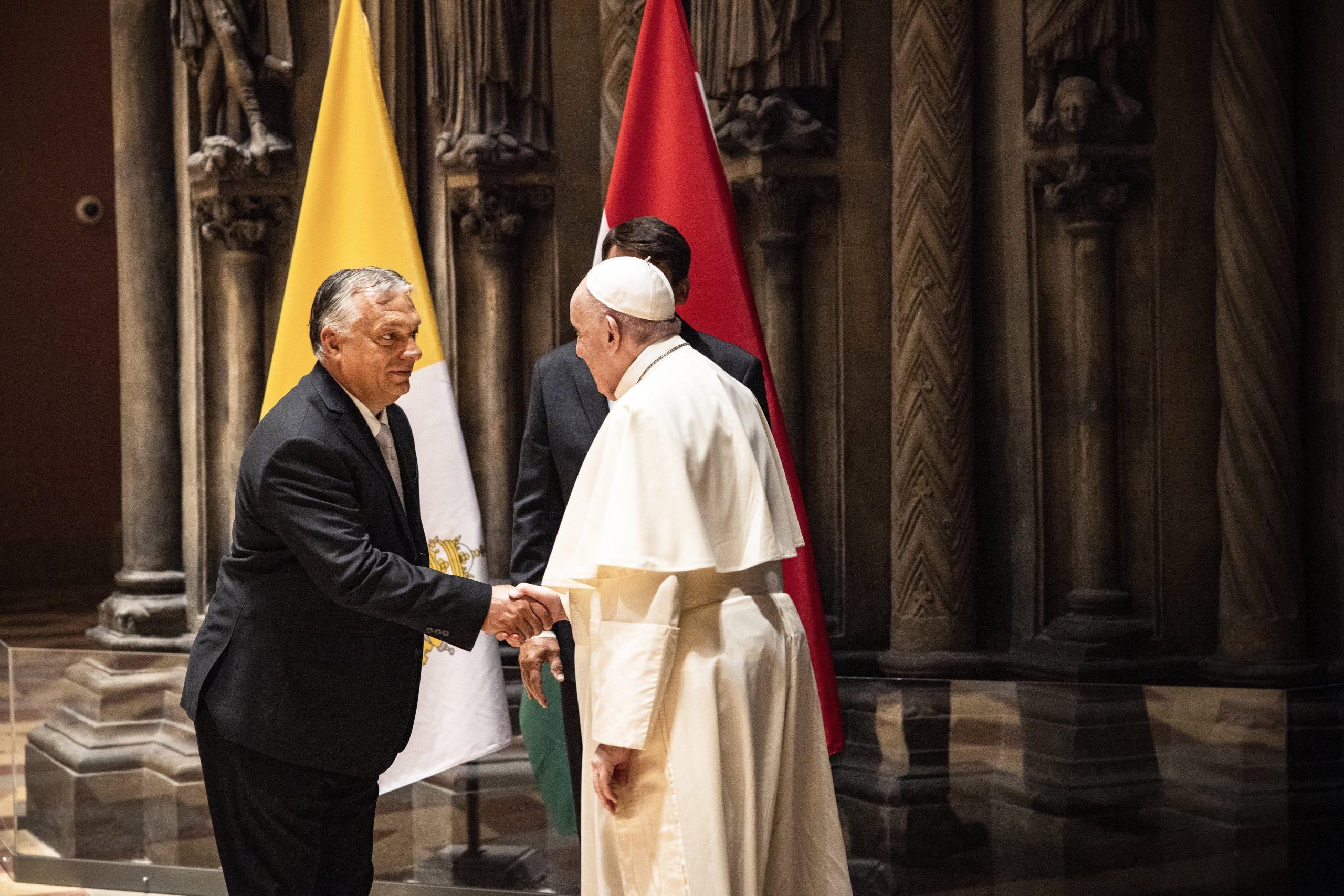 President Áder and PM Orbán Meet Pope Francis