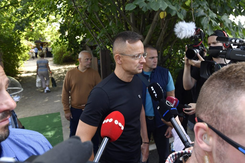 FM Szijjártó Admits 'There Were Racist Expressions' During Hungary-England WC Qualifier post's picture