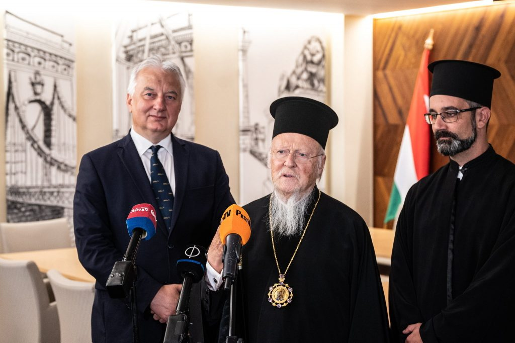 Deputy PM Semjén Meets Constantinople Ecumenical Patriarch in Budapest post's picture