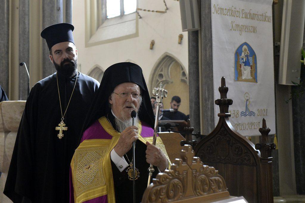 Bartholomew I: Eucharistic Spirituality Has Power to Transform Society post's picture