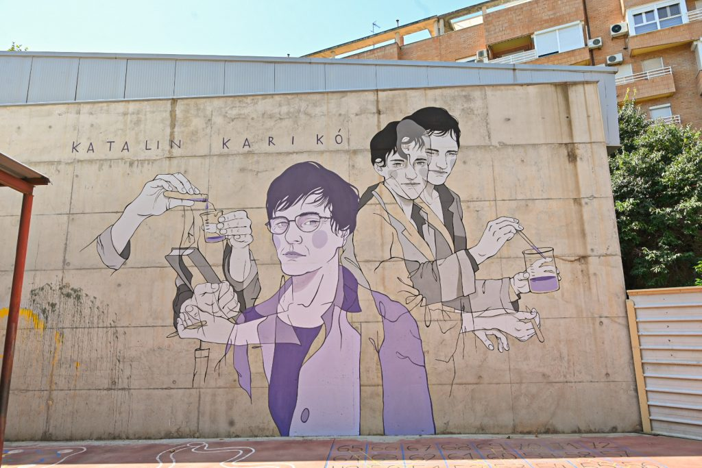 Spain Now Also Has a Karikó Mural post's picture