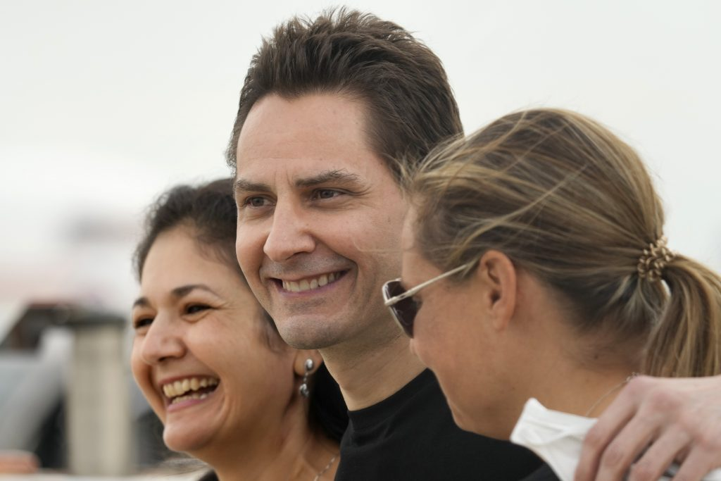 China Releases Canadian-Hungarian Kovrig after 1,000 + Days in Custody post's picture