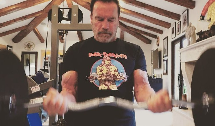 Arnold Schwarzenegger Secretly in Budapest, Works Out with Young Fan post's picture