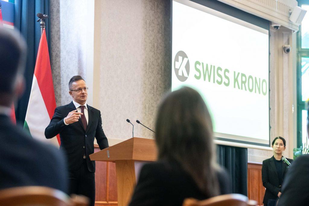 Swiss Krono Plans Expansion in Vásárosnamény post's picture