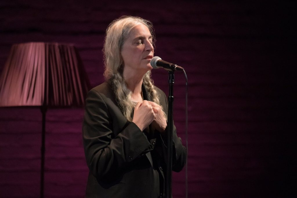 Patti Smith Shares her Love for Hungarian Literature at Budapest Performance post's picture