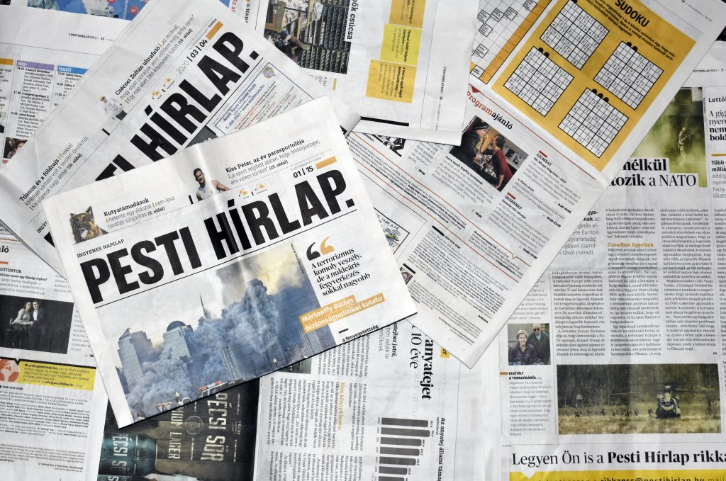 Media: Controversial Anti-Márki-Zay Front Pages in Pesti Hírlap Lead to Departures post's picture