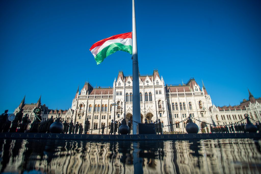 Hungary Hoists National Tricolor in Commemoration of 1956 Uprising post's picture