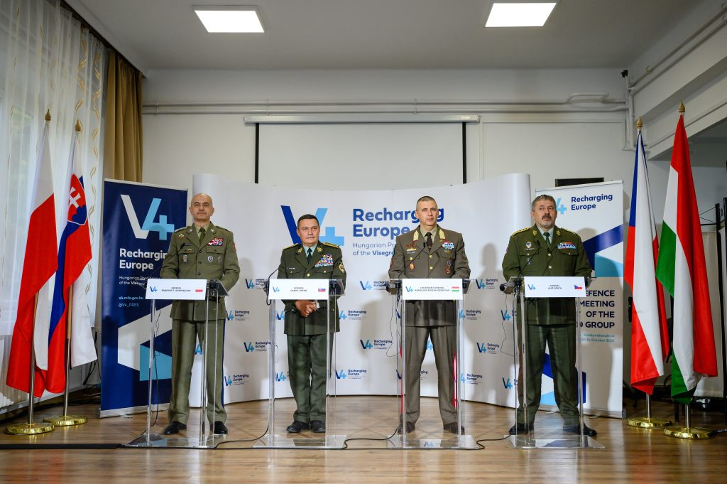 V4 Army Chiefs Sign Joint Declaration on Europe's Security post's picture