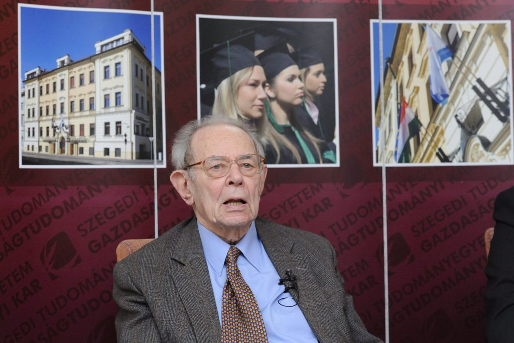 Renowned Economist Kornai Dies Aged 94 post's picture
