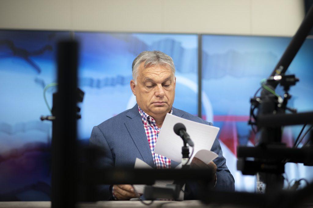 PM Orbán Talks Ukraine, Army Development, Pension Premium, Opposition in Radio Interview post's picture