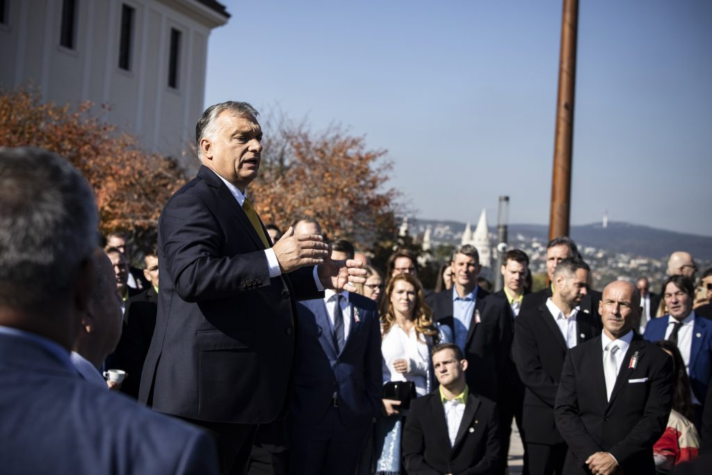 'We Will Only Survive If We Win,' PM Orbán Decorates Medal-Winning Olympic, Paralympic Athletes post's picture