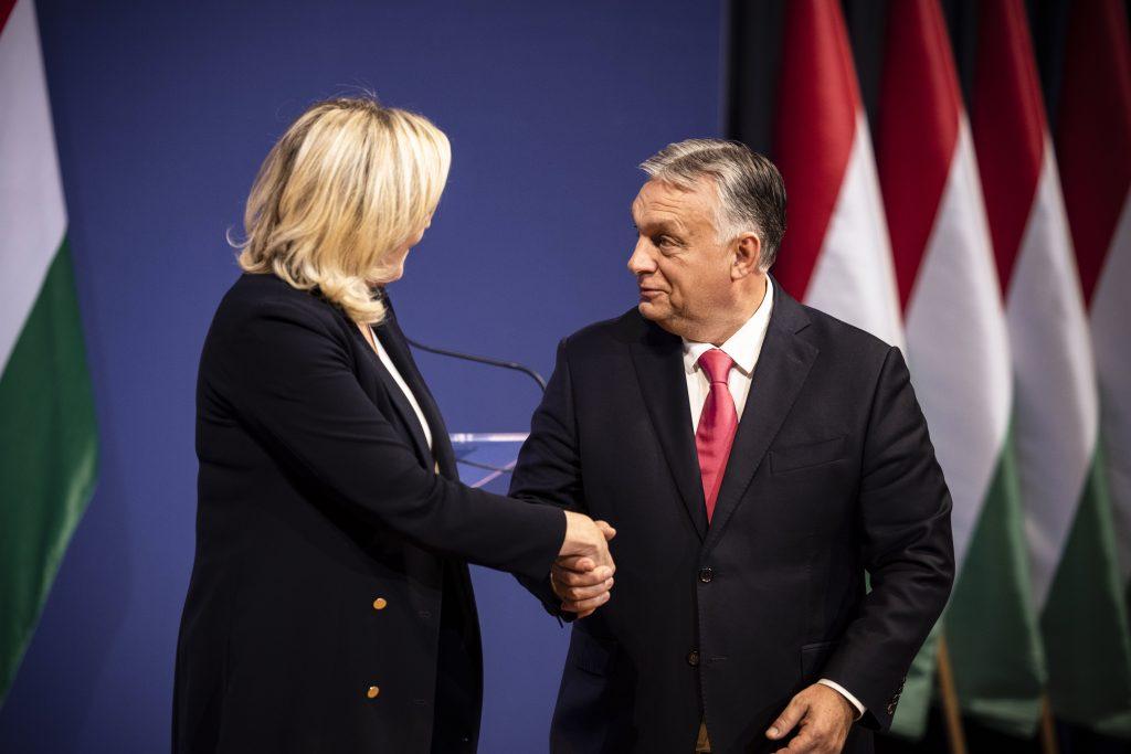 Press Roundup: Prime Minister Orbán Meets Marine Le Pen