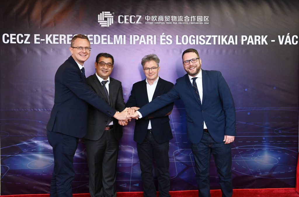China's CECZ Building Huge Warehouse Base Near Budapest post's picture