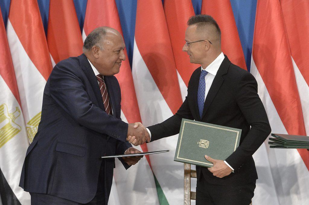 FM Szijjártó: EU Must Recognize Egypt's Efforts Against Migration post's picture