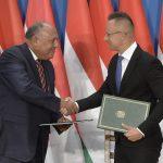 FM Szijjártó: EU Must Recognize Egypt's Efforts Against Migration