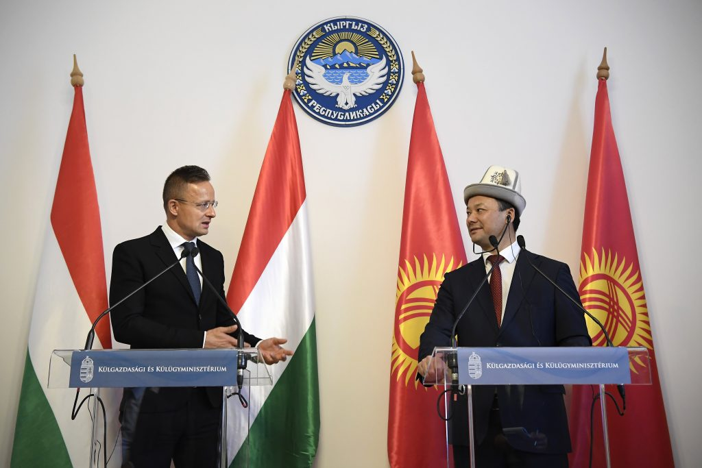FM Szijjártó to Kyrgyz Counterpart: Central Asia's Global Role Growing in Importance post's picture