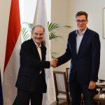 Budapest Mayor Karácsony Meets Historian Timothy Ash