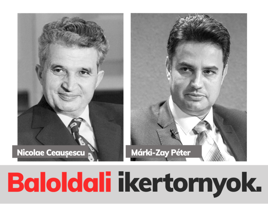 Fidelitas Compares Opposition PM Candidate Márki-Zay to Ceaușescu post's picture