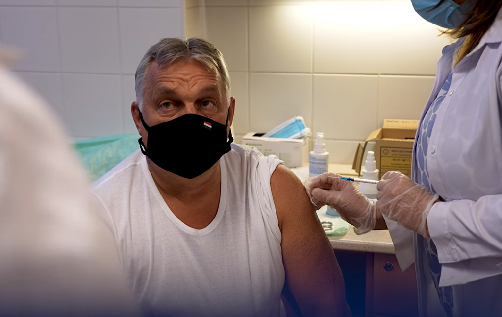 Coronavirus: PM Orbán Receives Booster Jab post's picture